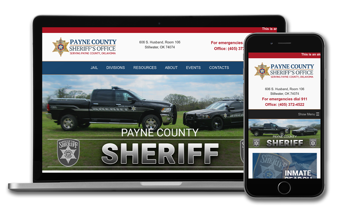 Payne County Sheriff Launches New Website